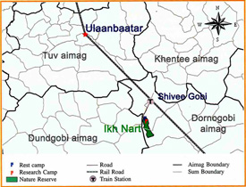 MAP TO IKH NART